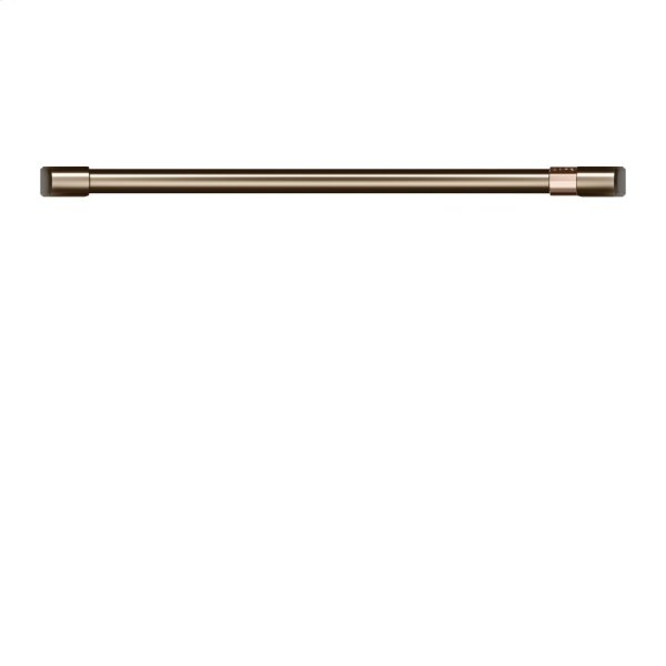 "Café 30"" Single Wall Oven Handle - Brushed Bronze"