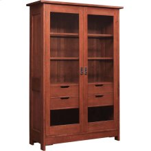Cherry Mission Display Cabinet