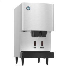 DCM-270BAH-OS, Cubelet Icemaker, Air-cooled, Hands Free Dispenser, Built in Storage Bin