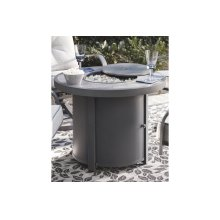 Round Fire Pit Table