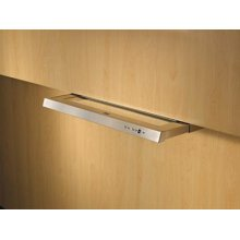 """42"""" Stainless Steel Built-In Range Hood with External Blower Options"""
