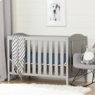 Crib and Toddler Bed - Convertible Nursery Furniture for your Baby - Soft Gray Product Image