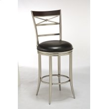 Kilgore Dull Nickel Bar Stool