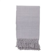 Hand Woven Ashley Throw Gray