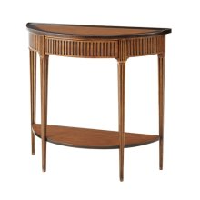 The Provincial Bowed Console Table
