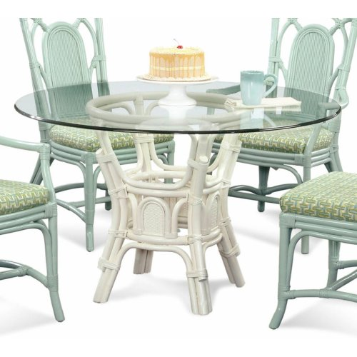 "Bay Walk 42"" Round Dining Table with Bevel"