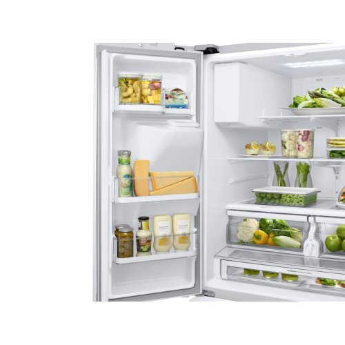 28 cu. ft. 3-Door French Door Refrigerator with CoolSelect Pantry in White