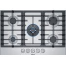 800 Series Gas Cooktop 30'' Stainless steel Product Image