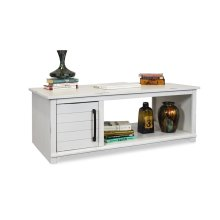 Cottage Coffee Table w/ Doors