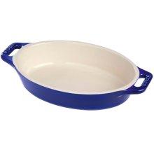 STAUB Ceramic 6.7'' X 4.3'' Oval Dish Blue