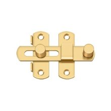 "Drop Latch 3 1/2"" - PVD Polished Brass"