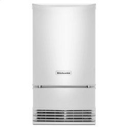 18'' Automatic Ice Maker with PrintShield Finish - White