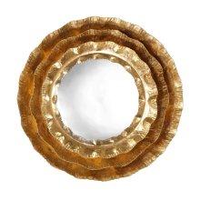 Petal Gold Mirror