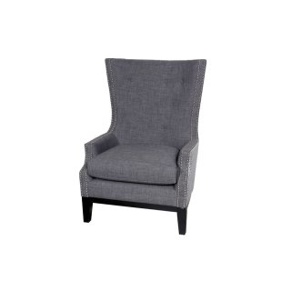 Draper High Back Accent Chair