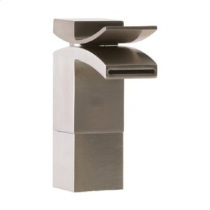 Lav Faucet Medium, Front Flow - Brushed Nickel Product Image