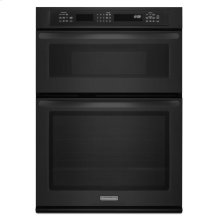27-Inch Convection Combination Microwave Wall Oven, Architect® Series II - Black