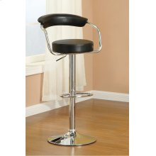 F1559 / Cat.19.p65- ADJUSTABLE BARSTOOL BLK