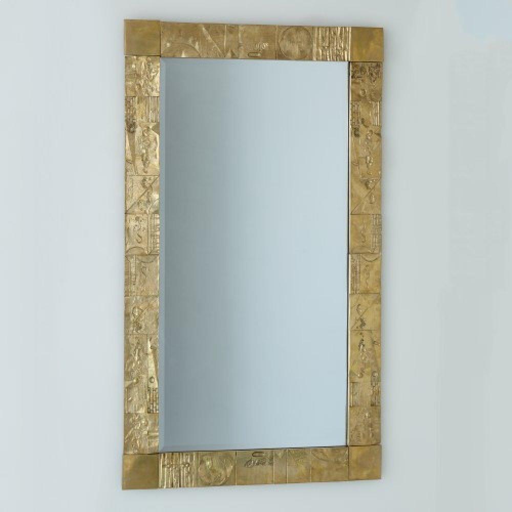 Pimlico Mirror-Brass