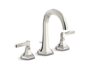 Sink Faucet, Tall Spout, Lever Handle - Nickel Silver Product Image