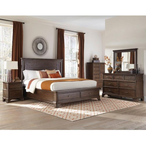 Telluride King-Size Bed Footboard