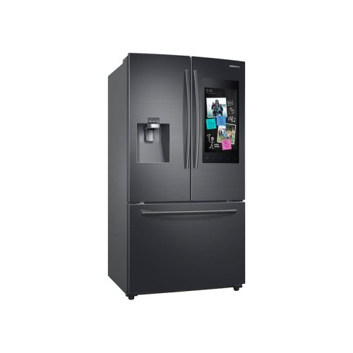 24 cu. ft. Family Hub 3-Door French Door Refrigerator in Black Stainless Steel