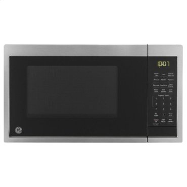 GE® 0.9 Cu. Ft. Capacity Countertop Microwave Oven with Scan-To-Cook Technology