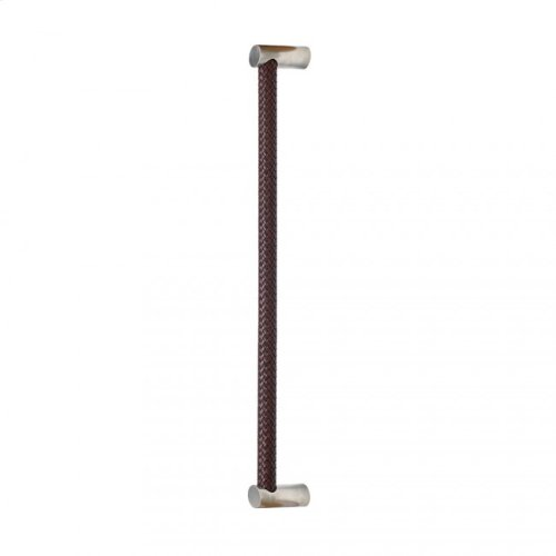 """Leather Grip (G174) - 25 1/2"""" Silicon Bronze Medium with Black Leather"""