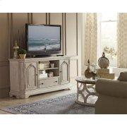 Elizabeth - 68-inch TV Console - Smokey White Finish Product Image