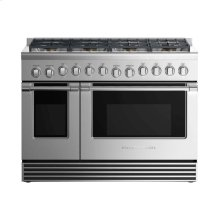 "Dual Fuel Range 48"", 8 Burners"