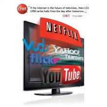 """55"""" Class Full HD 1080p Broadband 120Hz LCD TV (54.6"""" diagonal)"""