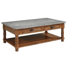 Bench Bobbin Coffee Table