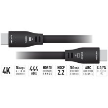 50 ft. HDMI Cable (4K@60Hz/18G/444/CL3/FT4/Ethernet/ARC/24AWG)