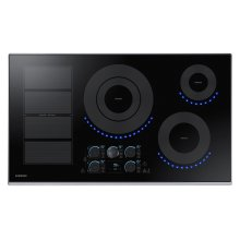 "36"" Induction Cooktop in Stainless Steel"