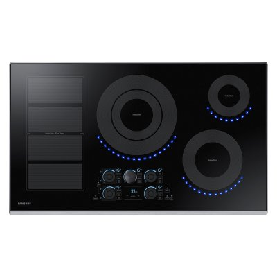 "36"" Induction Cooktop in Stainless Steel Product Image"