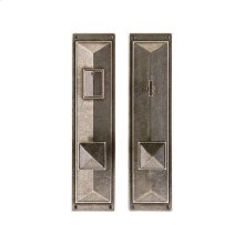 """Mack Entry Set - 3 3/4"""" x 15"""" Silicon Bronze Brushed"""