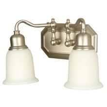 2 Light Vanity