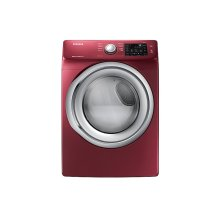 7.5 cu. ft. Gas Dryer with Steam in Merlot