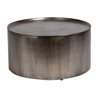 Rotonde Hammered Metal Coffee Table