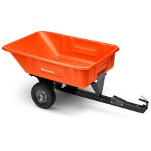10 Cu. Ft. Poly Swivel Dump Cart