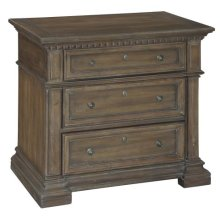 Turtle Creek Triple Drawer Night Stand
