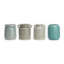Edwyn Ceramic Utensil Containers - Ast 3
