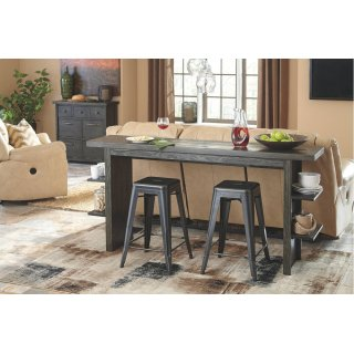 Long Counter Table plus 3 Stools