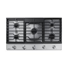 """36"""" Gas Cooktop in Stainless Steel"""