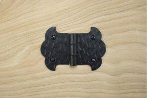 "Black 3.5"" Furniture Hinge 511506A Product Image"