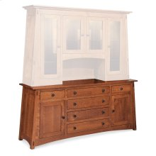 McCoy Deluxe Hutch Base, 76""