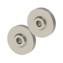 Silver iPad® 2-Puck Accessory Kit For wood, concrete and drywall surfaces