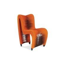 Seat Belt Dining Chair Orange