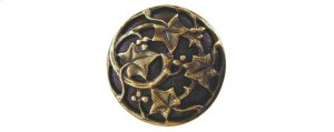 Ivy with Berries - Antique Brass Product Image