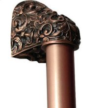 Acanthus - Antique Copper Plain Bar