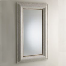 Toile Linen Floor Mirror